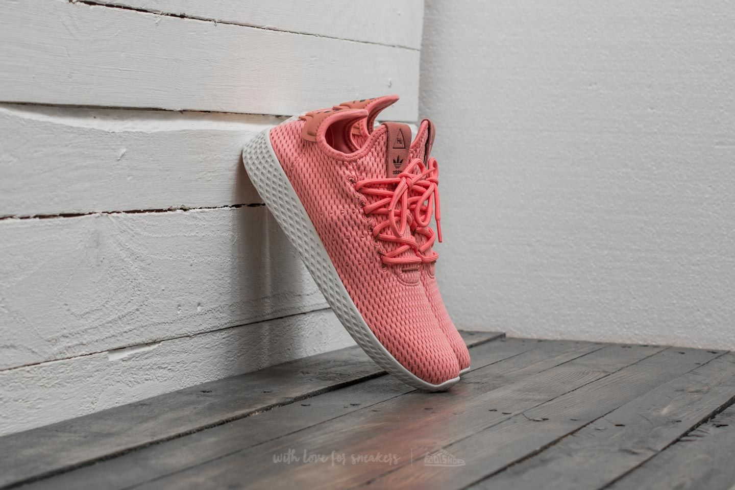promo code c39b5 63686 adidas Pharrell Williams PW Tennis HU Tactile Rose/ Tactile Rose ...