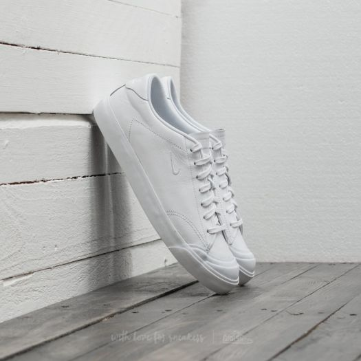 Bergantín Timor Oriental césped  Men's shoes Nike All Court 2 Low Leather White/ White-Black | Footshop
