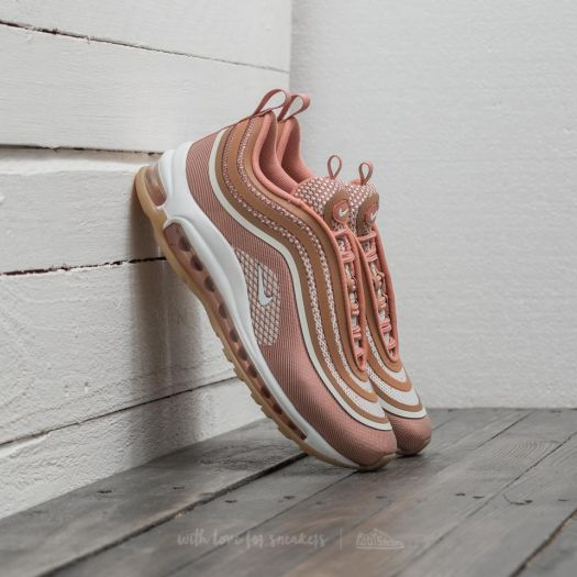 premium selection cf5c2 a27a3 Nike Wmns Air Max 97 UL '17 Metallic Rose Gold/ Gum Light ...