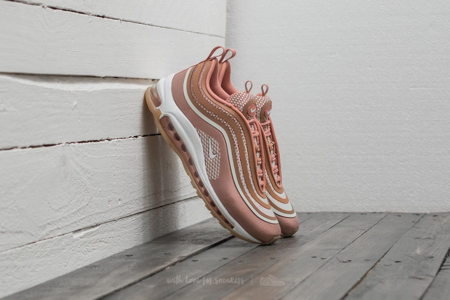 half off 62f10 a6a50 Nike Wmns Air Max 97 UL 17 Metallic Rose Gold Gum Light Brown