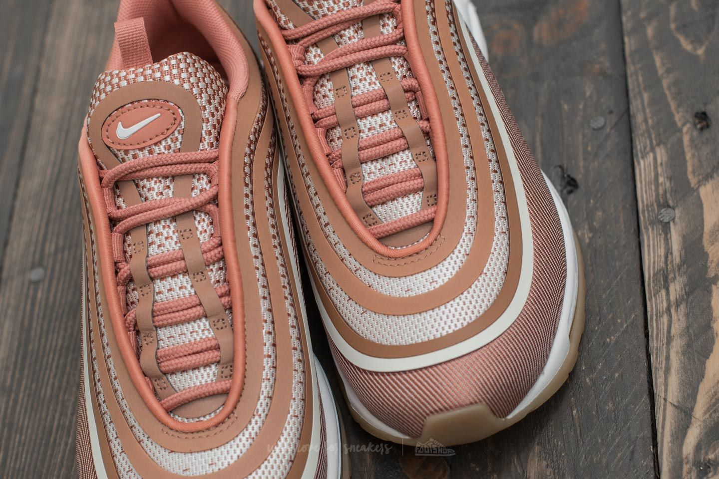 Nike Wmns Air Max 97 UL '17 Metallic Rose Gold Gum Light Brown | Footshop