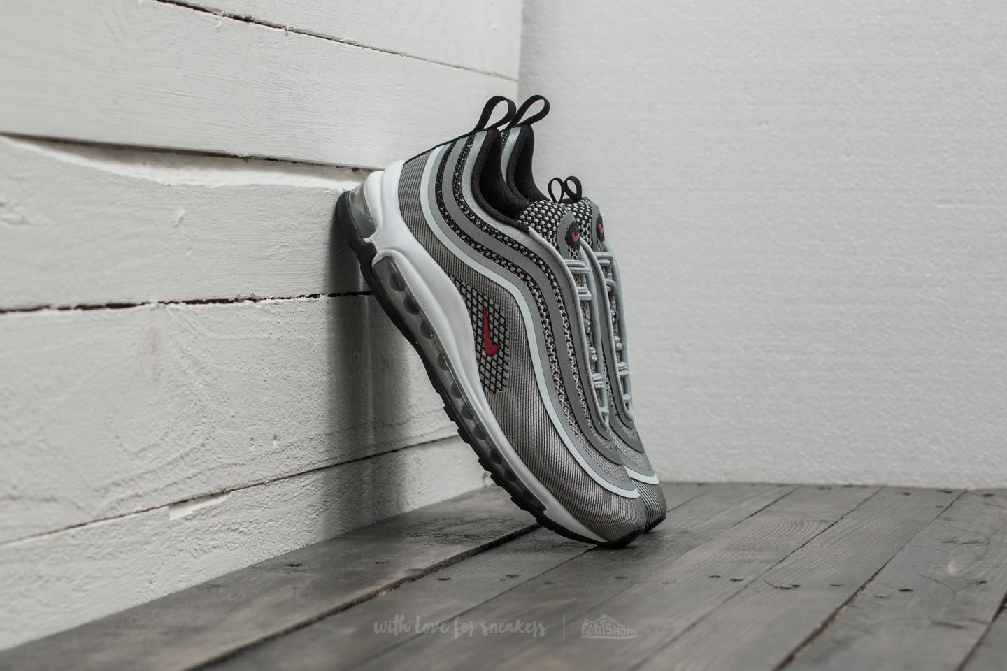 78f995355f Nike Wmns Air Max 97 UL '17 Metallic Silver/ Varsity Red | Footshop