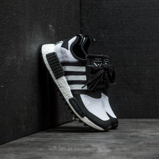 Men's Adidas X White Mountaineering Nmd Trail Primeknit Core Black Ftw White