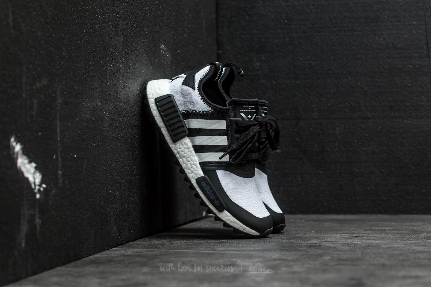 f030ab1de adidas x White Mountaineering NMD Trail Primeknit Core Black/ Ftw ...