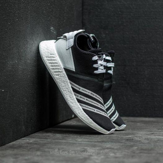super popular 1d69e 4cbda adidas x White Mountaineering NMD R2 Primeknit Core Black ...