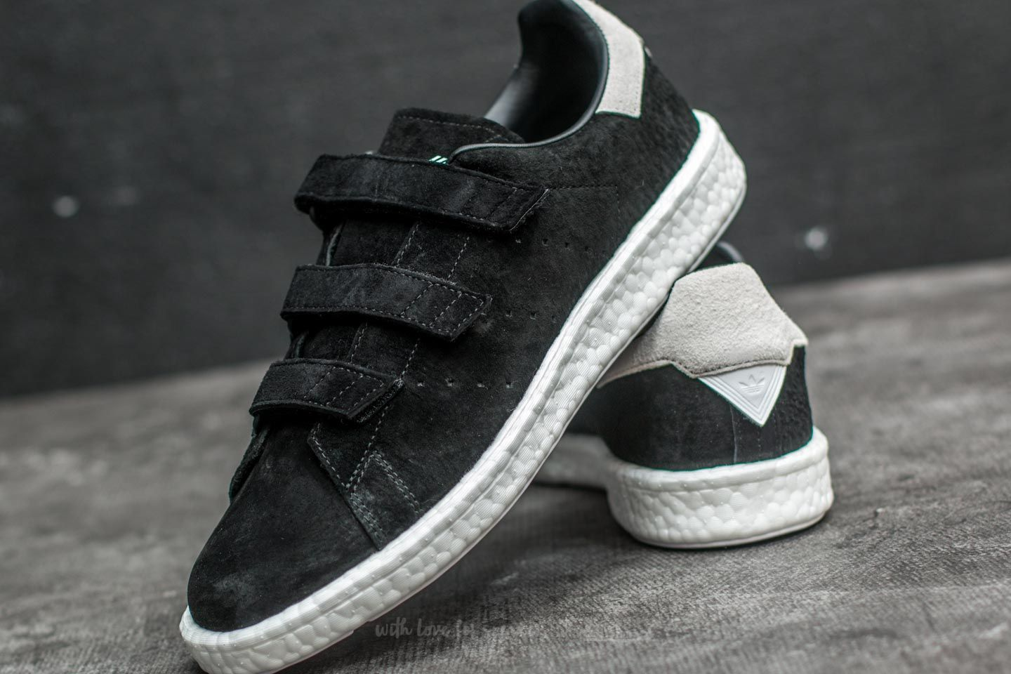 size 40 c2be5 4d8a5 adidas x White Mountaineering Stan Smith CF Core Black/ Core ...