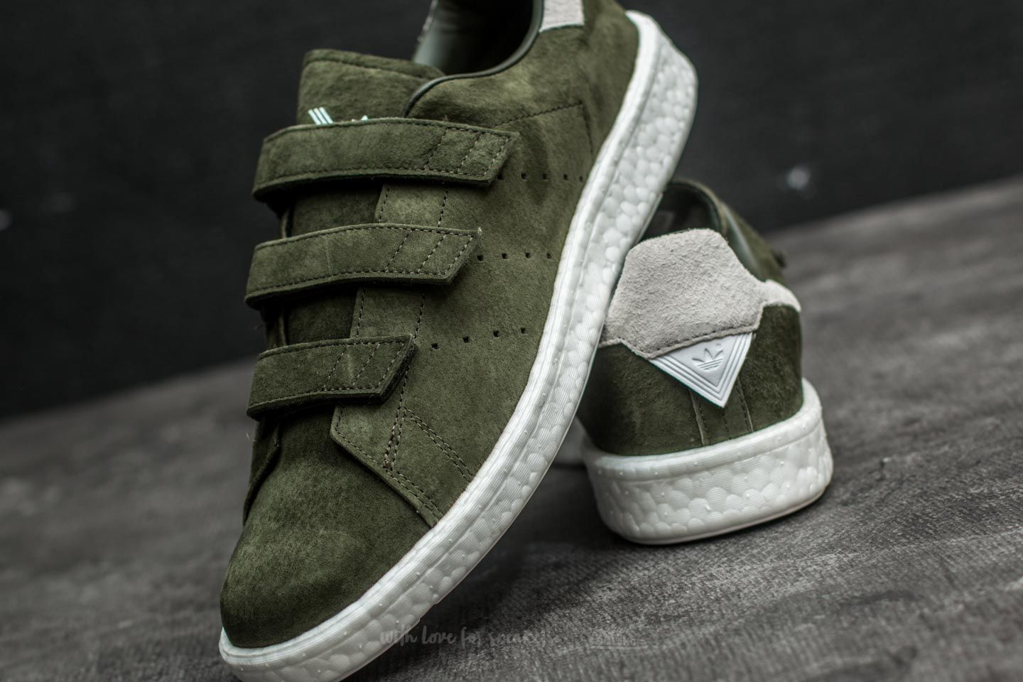best sneakers 19be5 6409c adidas x White Mountaineering Stan Smith CF Night Cargo ...