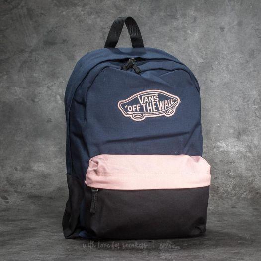 tehdasmyymälät virallinen parhaat kengät Vans Realm Backpack Dress Blues/ Blossom | Footshop