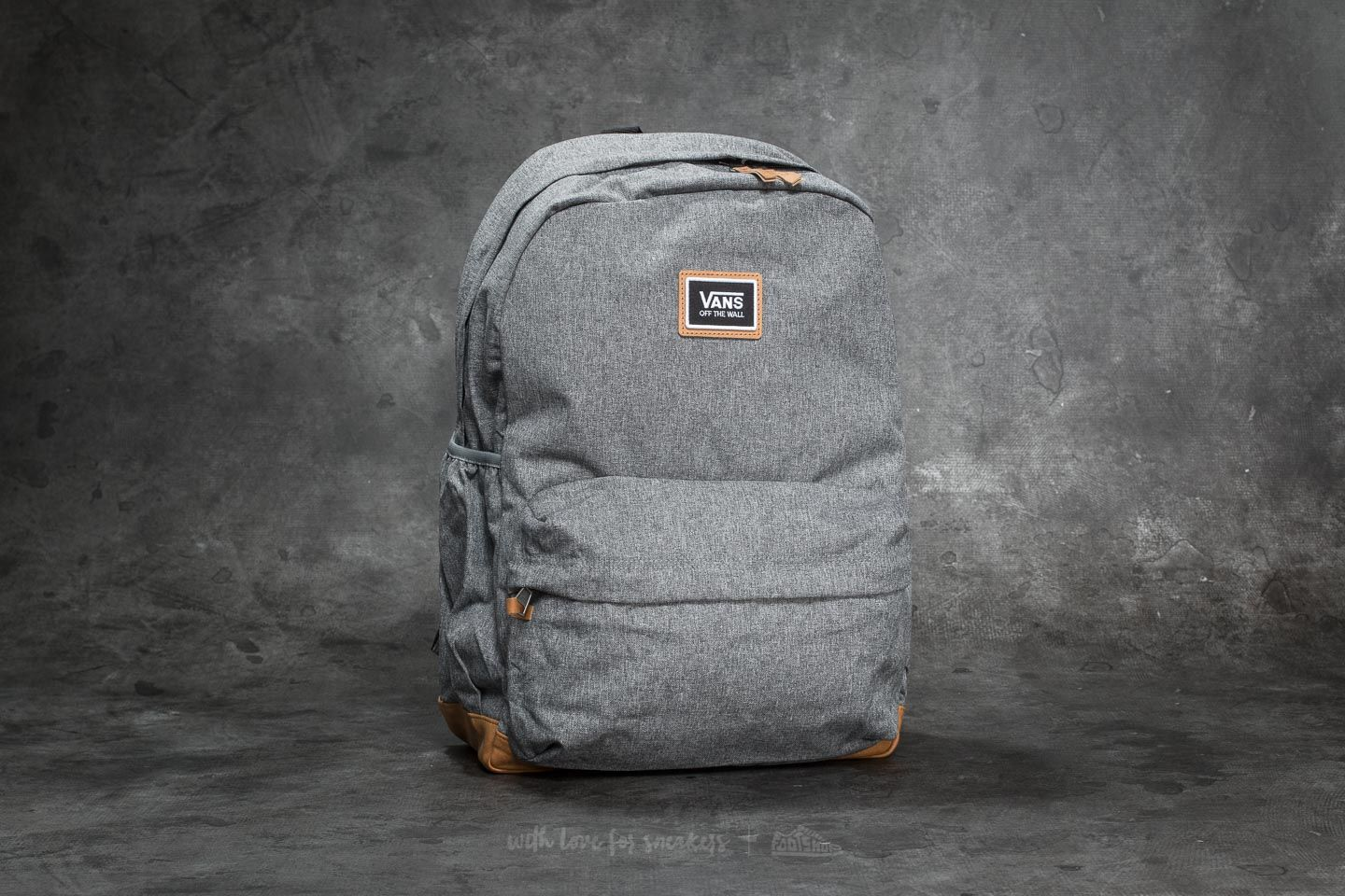 Vans Realm Plus Backpack Black Heather | Footshop