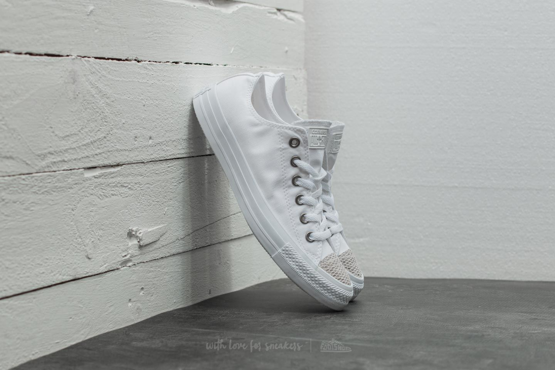 094e28cb0845 Converse Chuck Taylor All Star Ox White  White  White