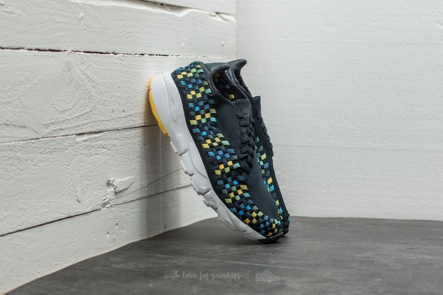Nike Air Footscape Woven NM Dark Obsidian/ Tour Yellow