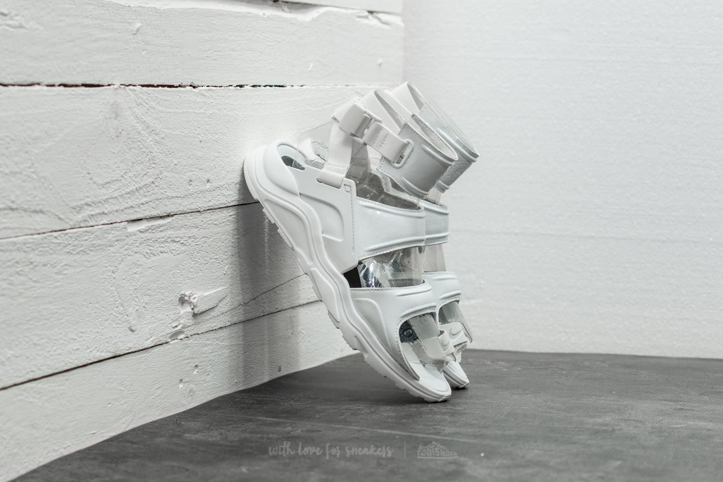 Nike Wmns Air Huarache Gladiator QS Summit White/ Summit White