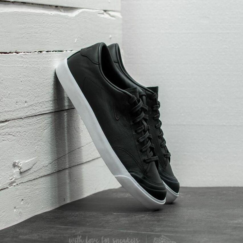 Nike All Court 2 Low Leather Black/ Black-White EUR 42
