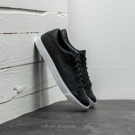 Creta occidental desconectado  Men's shoes Nike All Court 2 Low Leather Black/ Black-White | Footshop