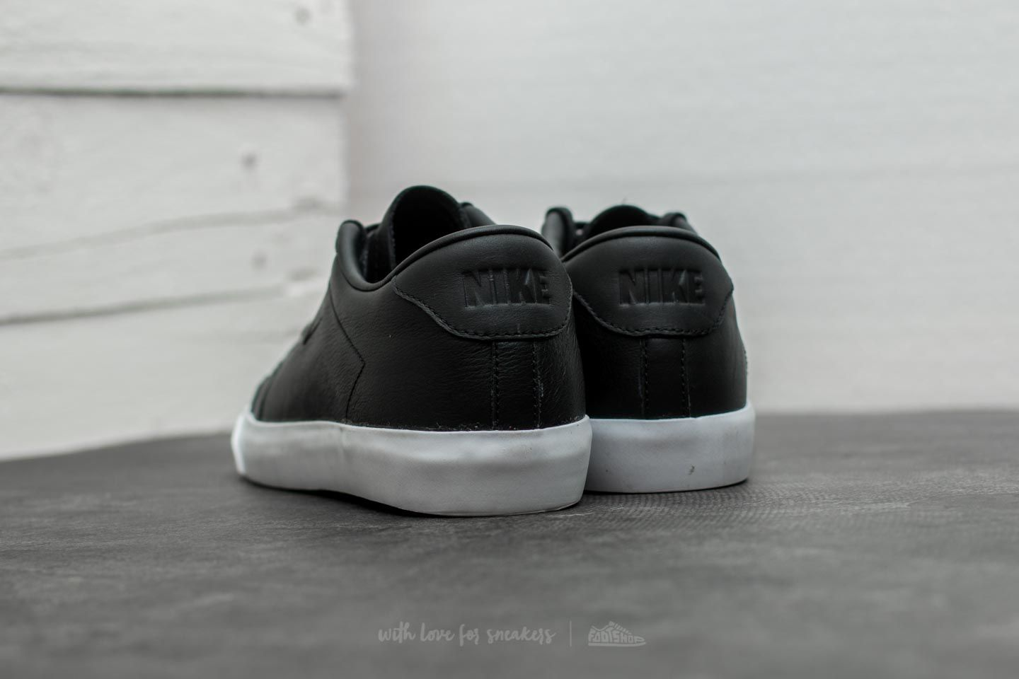 buy online 33b9b fd42b ... official store nike all court 2 low leather black black white at a great  price 95