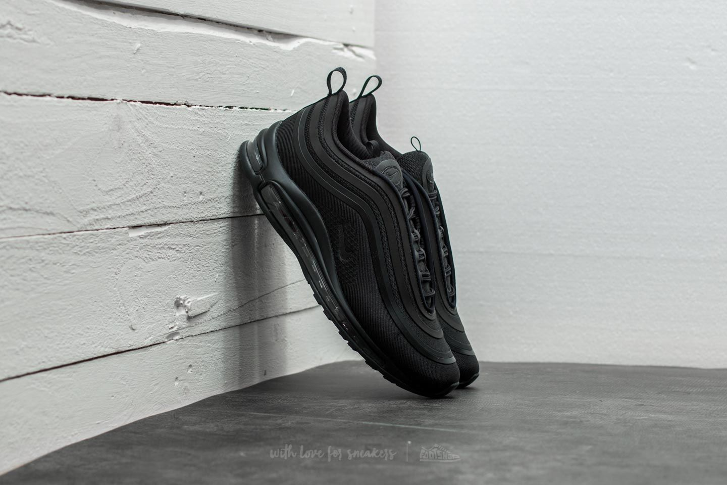 b0410c0b62680 Nike Air Max 97 Ultra  17 Black  Black-Black