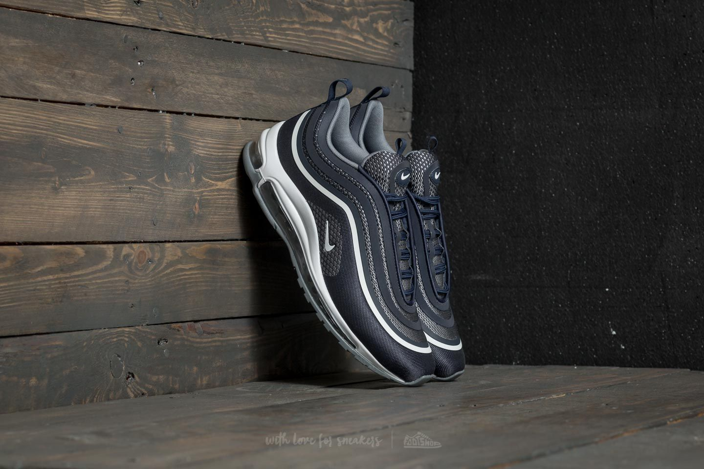 info for ff6de cd5fd Nike Air Max 97 Ultra  17. Midnight Navy  White-Cool Grey