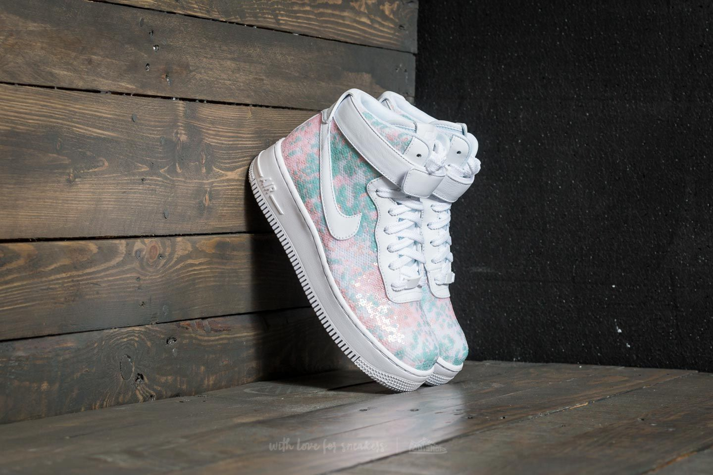 release date 2e083 c1749 Nike Wmns Air Force 1 Upstep High LX White/ White | Footshop