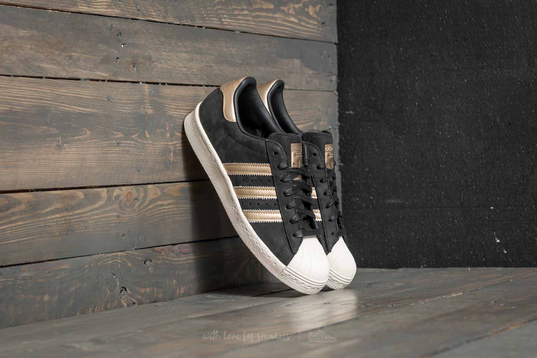 adidas Superstar 80s 999 W Core Black/ Supplier Colour/ Off White   Footshop