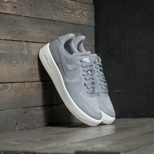 Nike Air Force 1 Ultraforce Premium Stealth Black Summit White | Footshop