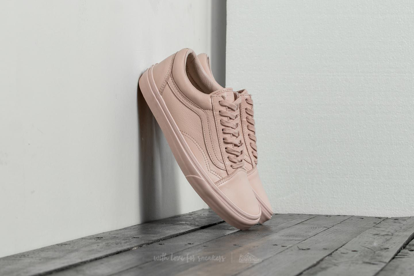 Vans Old Skool (Leather) Mono  Sepia Rose  910b47247