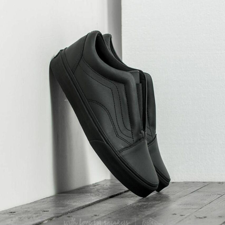 Vans Old Skool Laceless (Leather) Black EUR 36.5