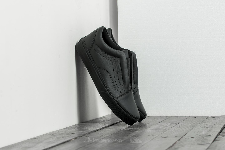 Vans Old Skool Laceles (Leather) Black