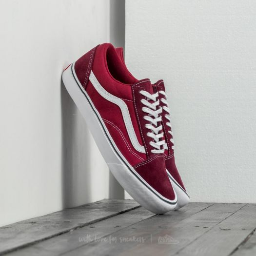 Vans Old Skool Lite (Throwback)Port Royale Tibetan Red