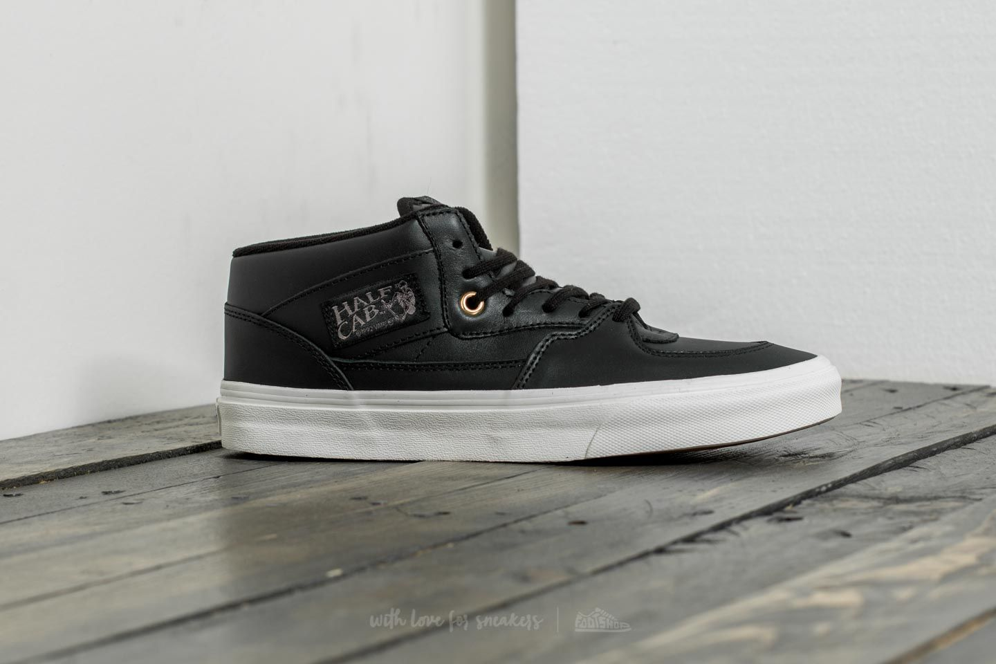 1ae0919d23 Vans Half Cab DX (Leather) Black  Gold at a great price 50 €