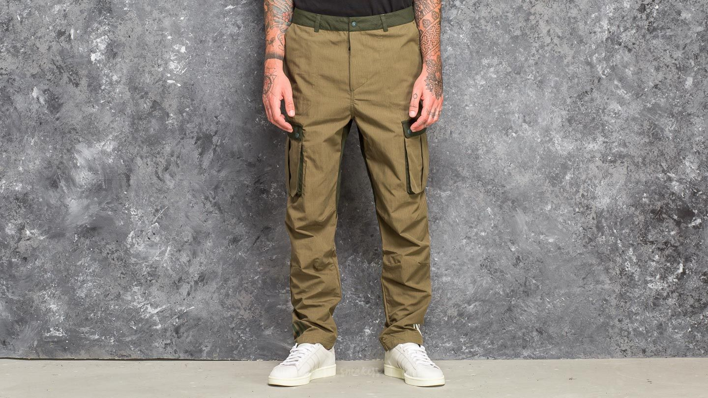 adidas White Mountaineering 6 Pocket Pants Trace Olive