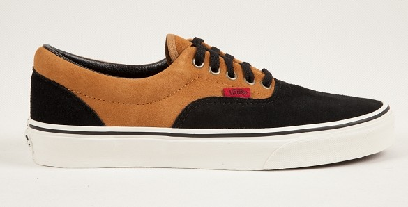 Vans ERA (Suede 2tone) Brown/Black | Footshop