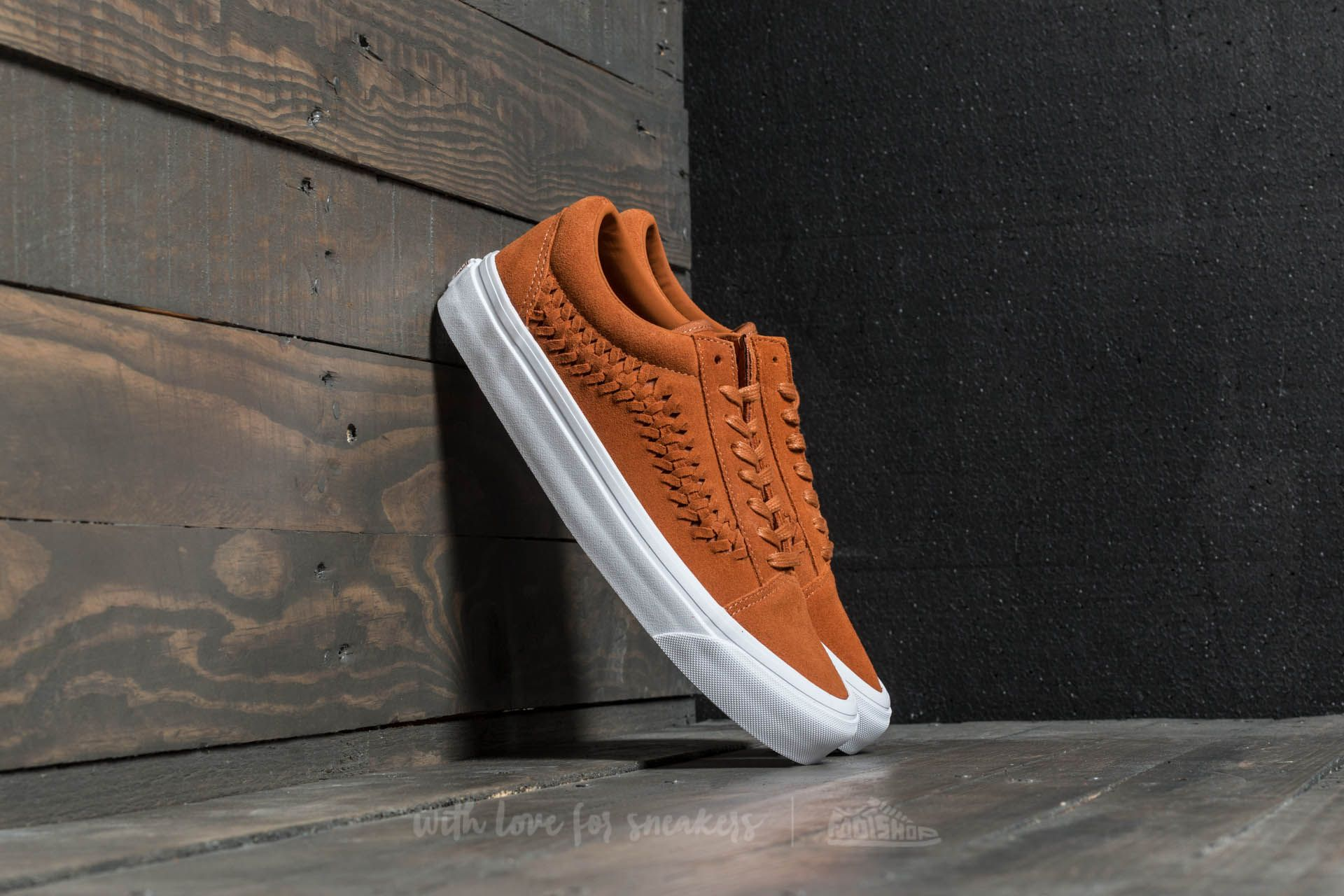 Vans Old Skool Weave DX (Suede) Glazed Ginger | Footshop