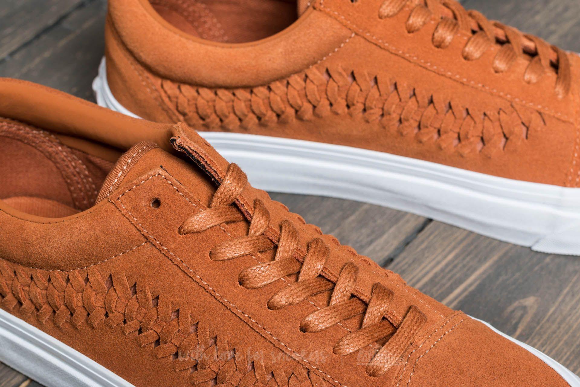 Vans Old Skool Weave DX (Suede) Glazed Ginger | Footshop