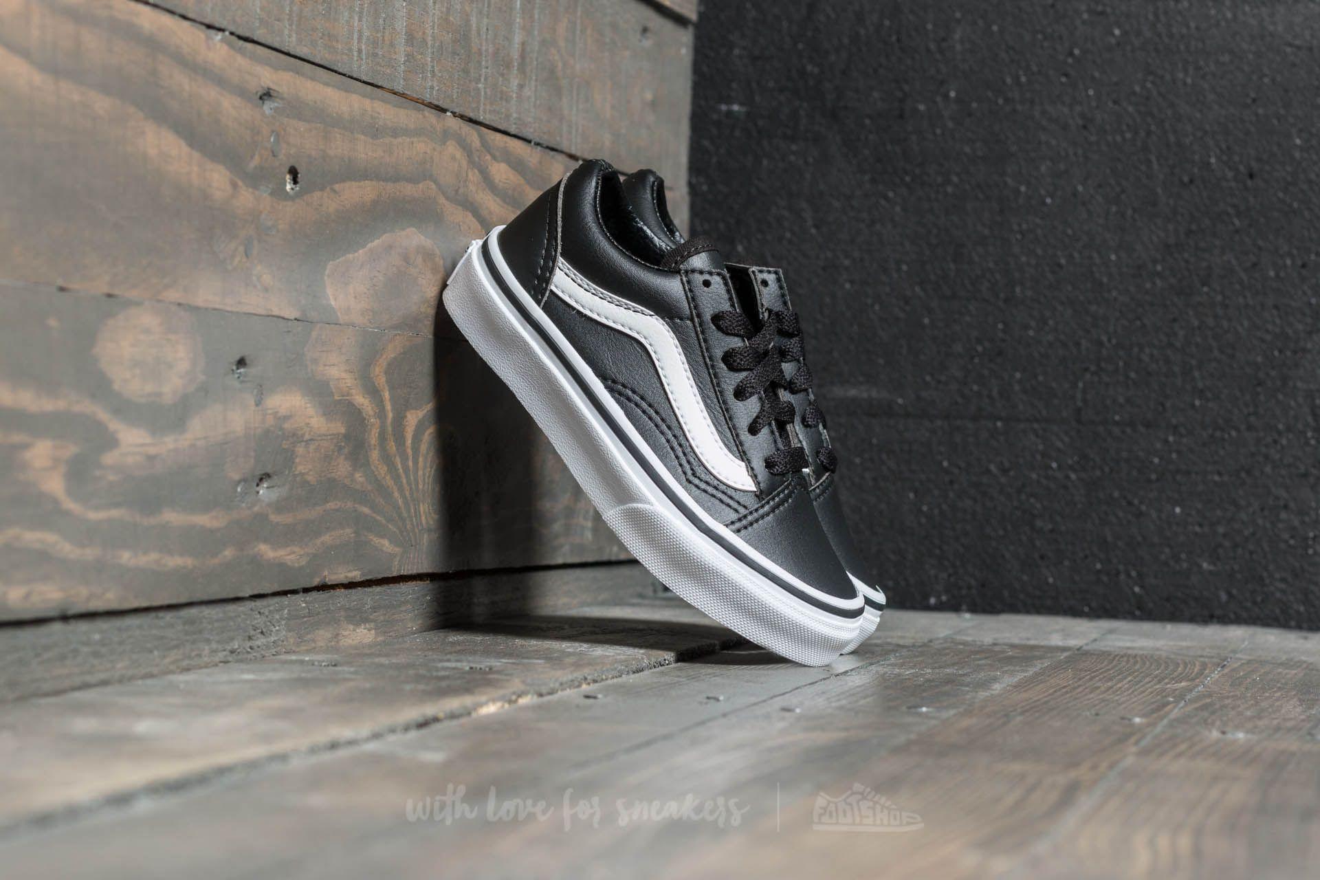 Vans Old Skool (Classic Tumble) Black True White | Footshop