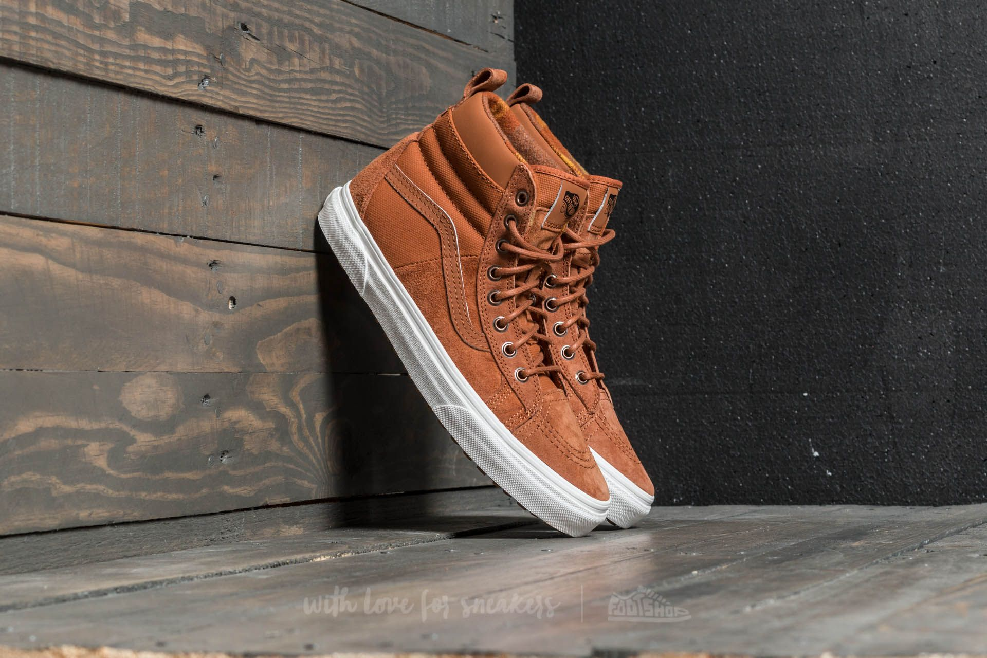 2e920714fb Vans SK8-Hi 46 MTE DX (MTE) Glazed Ginger  Flannel