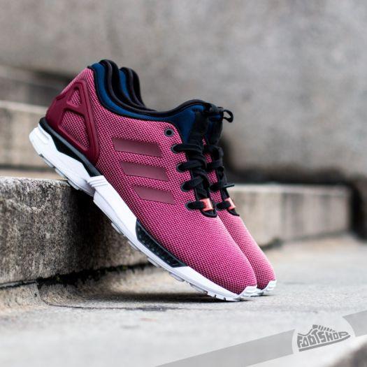 adidas ZX Flux NPS BurgundyBlack | Footshop
