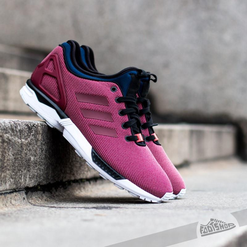 adidas ZX Flux NPS Burgundy/Black | Footshop