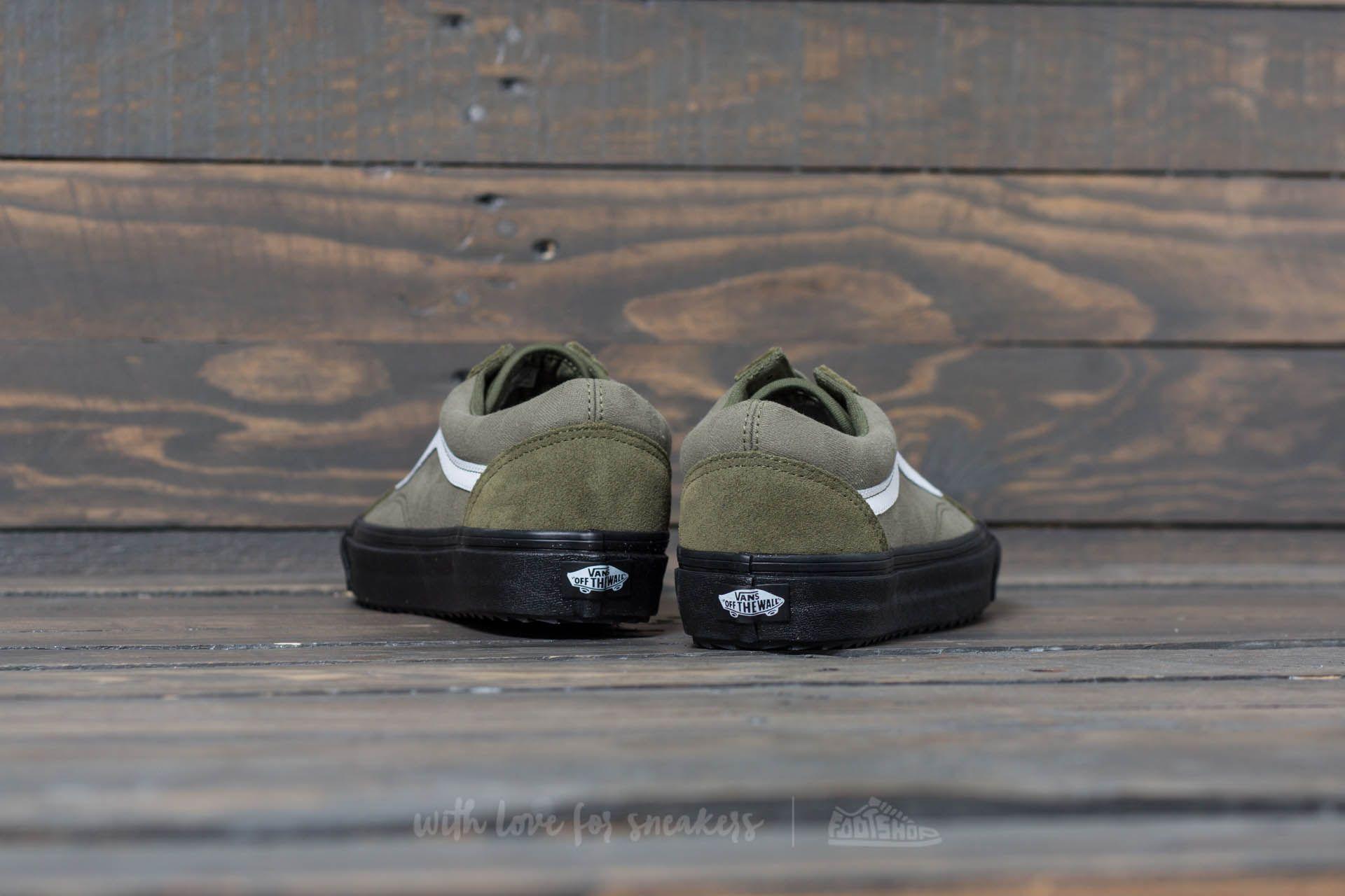 Vans Old Skool Waffles (Surplus_Camo) Winter Moss Black | Footshop