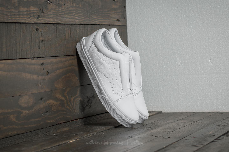 680ad22b07 Vans Old Skool Laceless (Leather) True White za skvělou cenu 1 390 Kč  koupíte