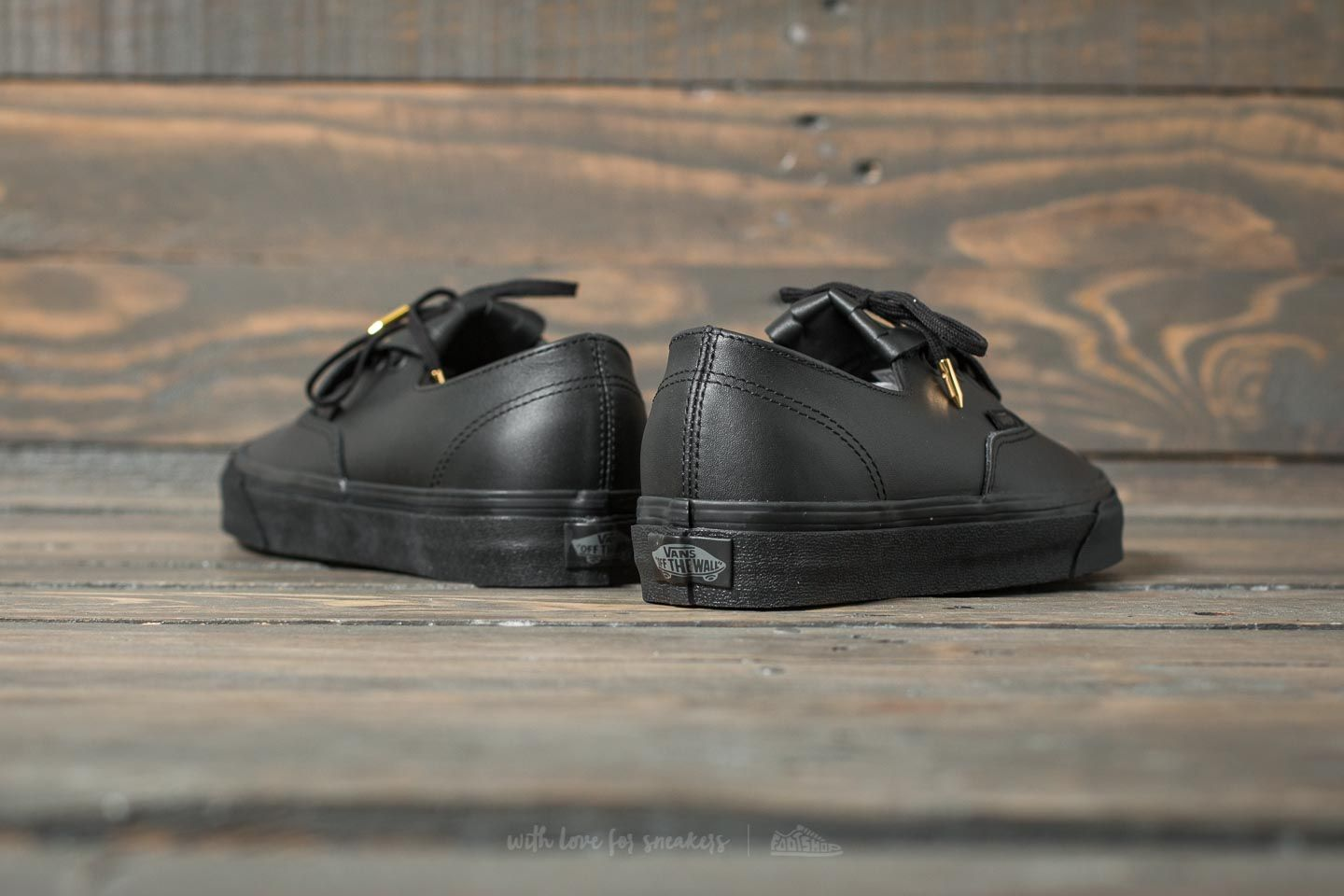 Vans AUTHENTIC FRINGE DX Sneaker low blackgold für 89