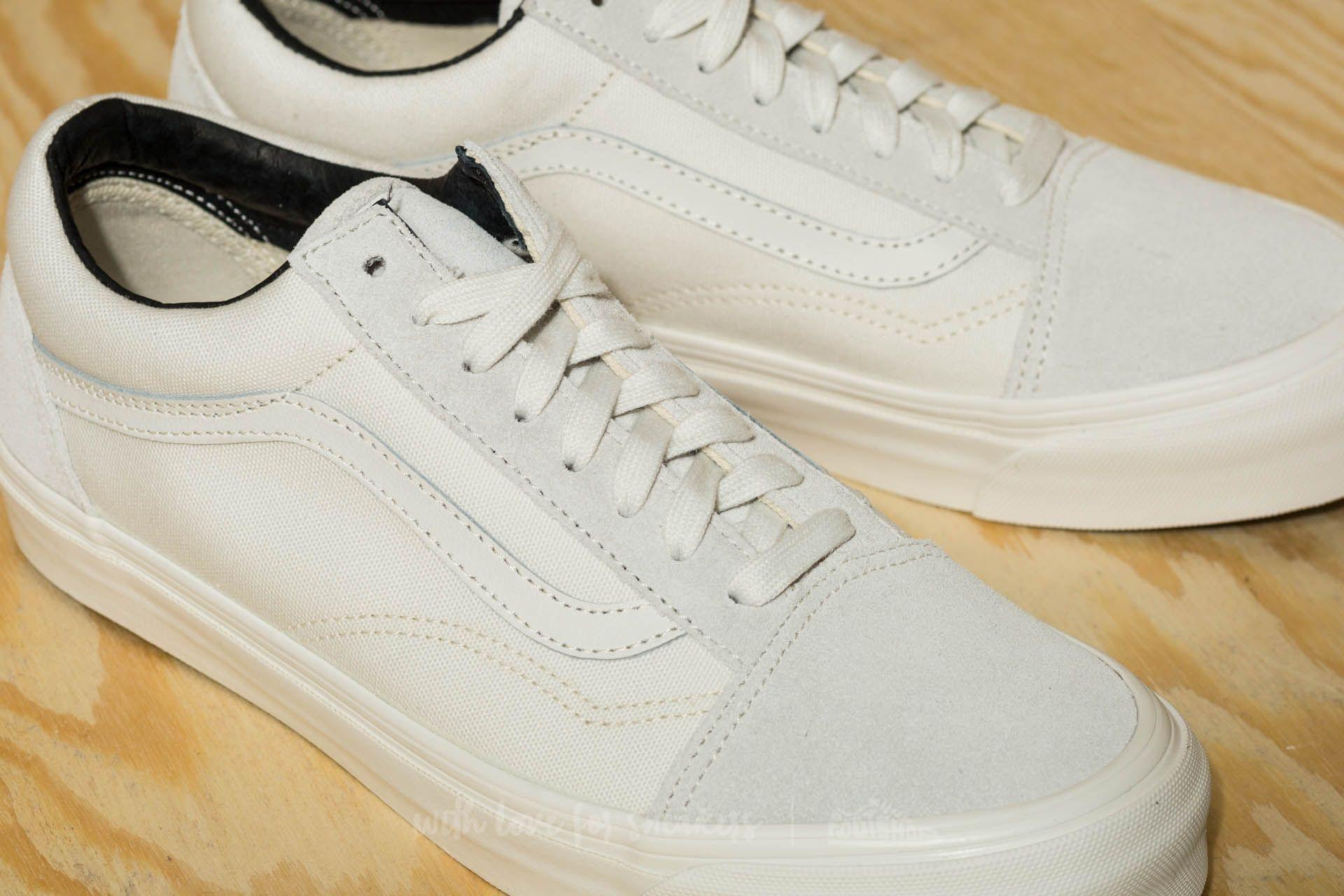 vans canvas blanche