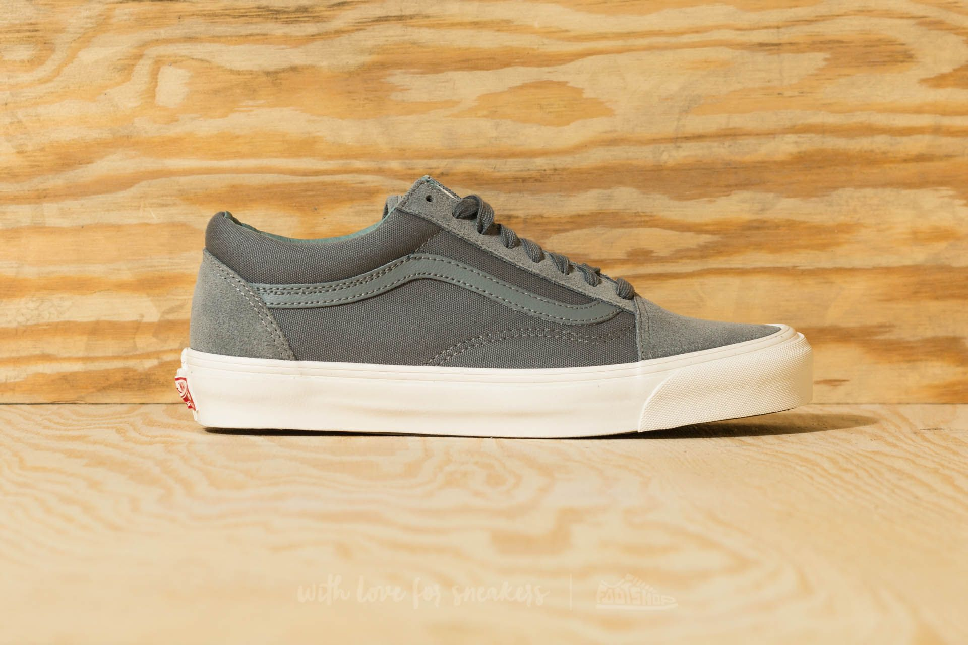 Vans OG Old Skool LX (Suede Canvas) Mentol Mind Trolls | Footshop