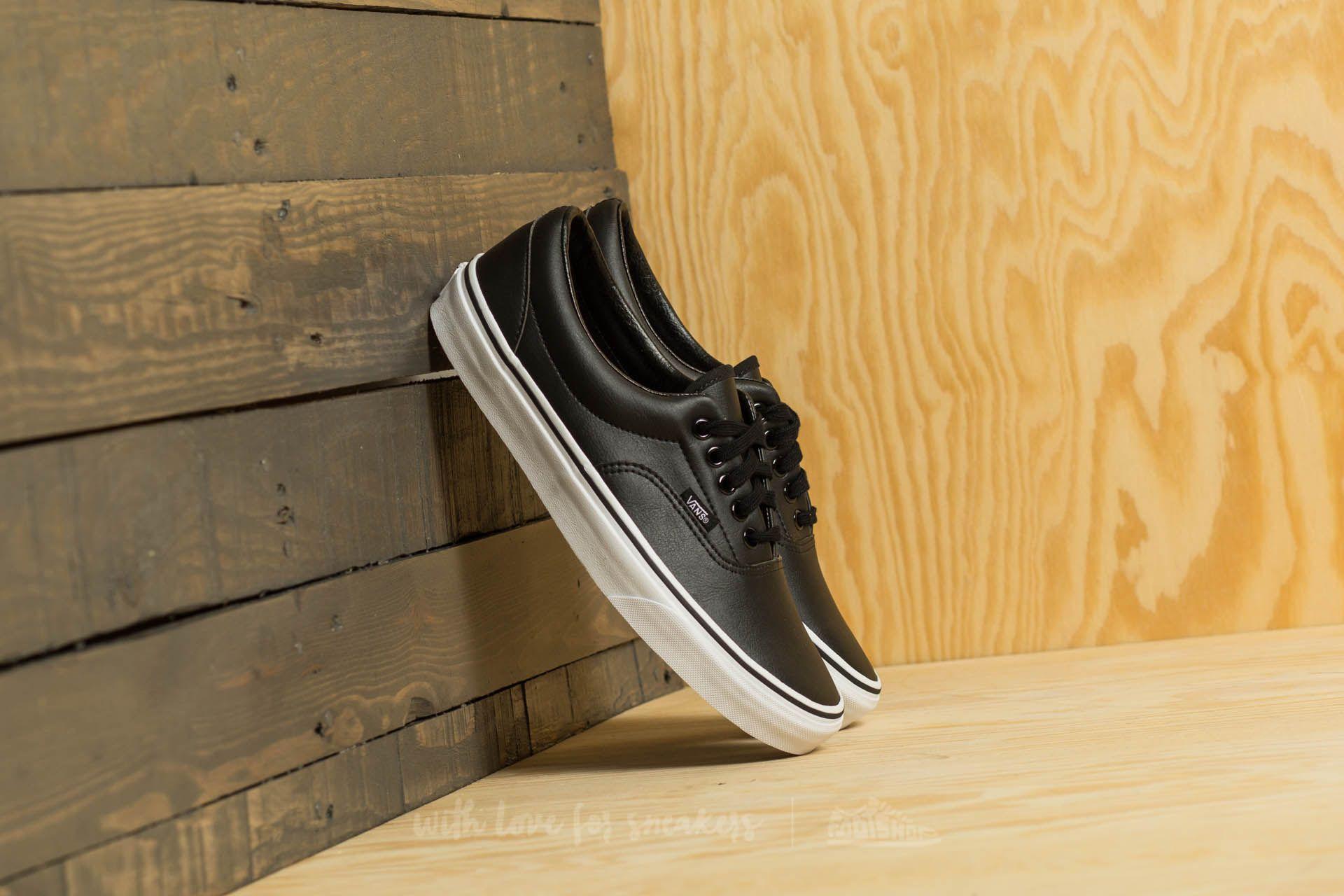 Vans Era (Classic Tumble) Black  True White  ea330a268