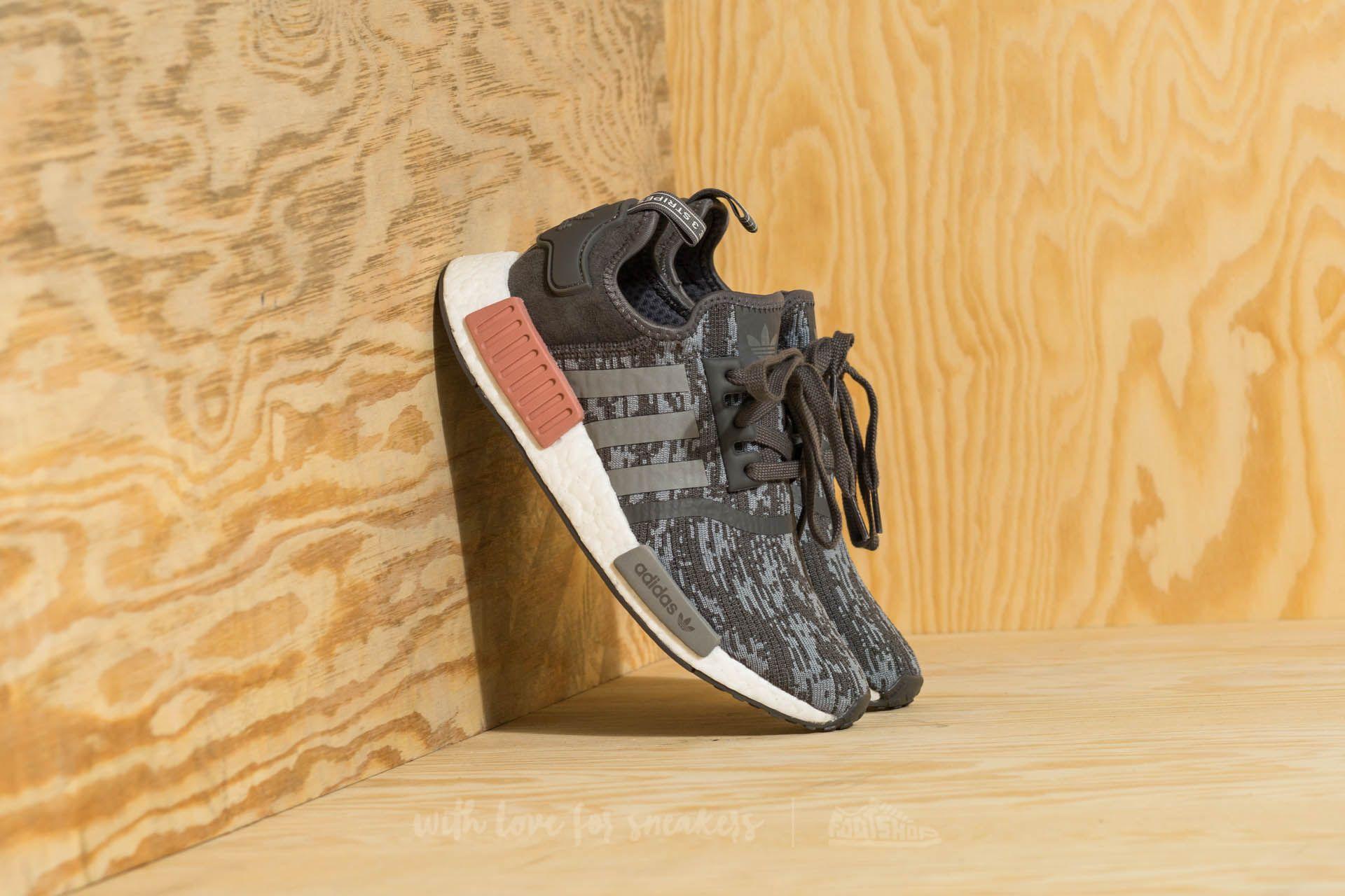 b9dbe1cd0 adidas NMD R1 Grey Five  Grey Three  Raw Pink