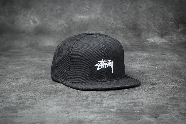 a4cc975b739 Stüssy Stock FA17 Cap Black