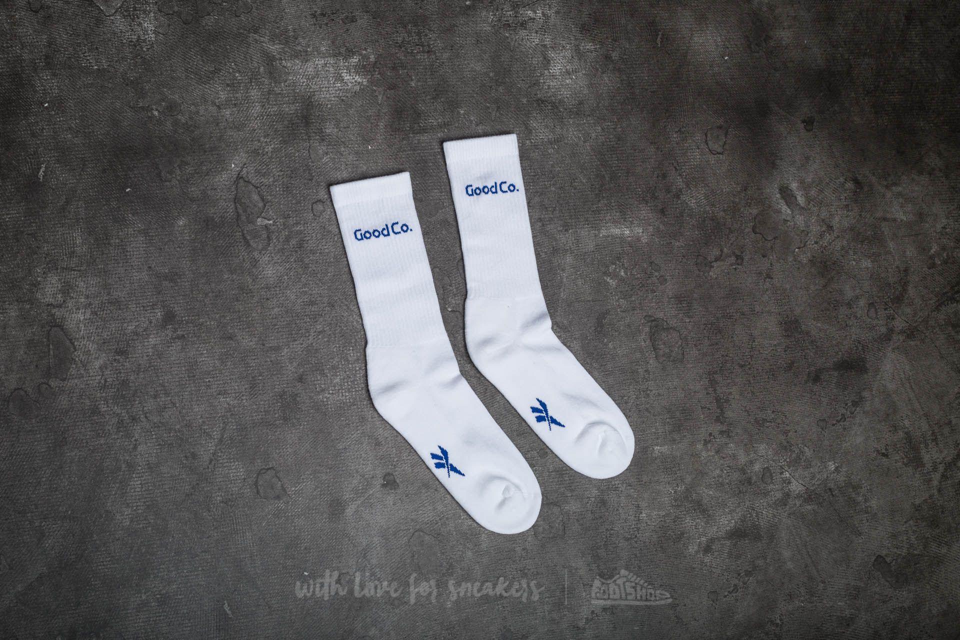 c8368013538 Reebok Classic x The Good Company Crew Socks White