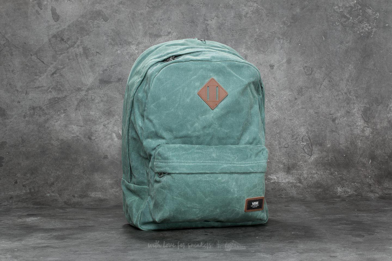 Vans Old Skool Plus Backpack Dark Forest  08a2d890f