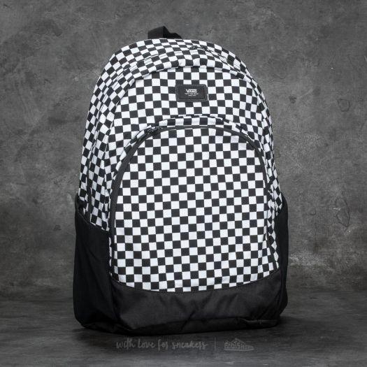 Vans Van Doren Original Backpack Black White   Footshop