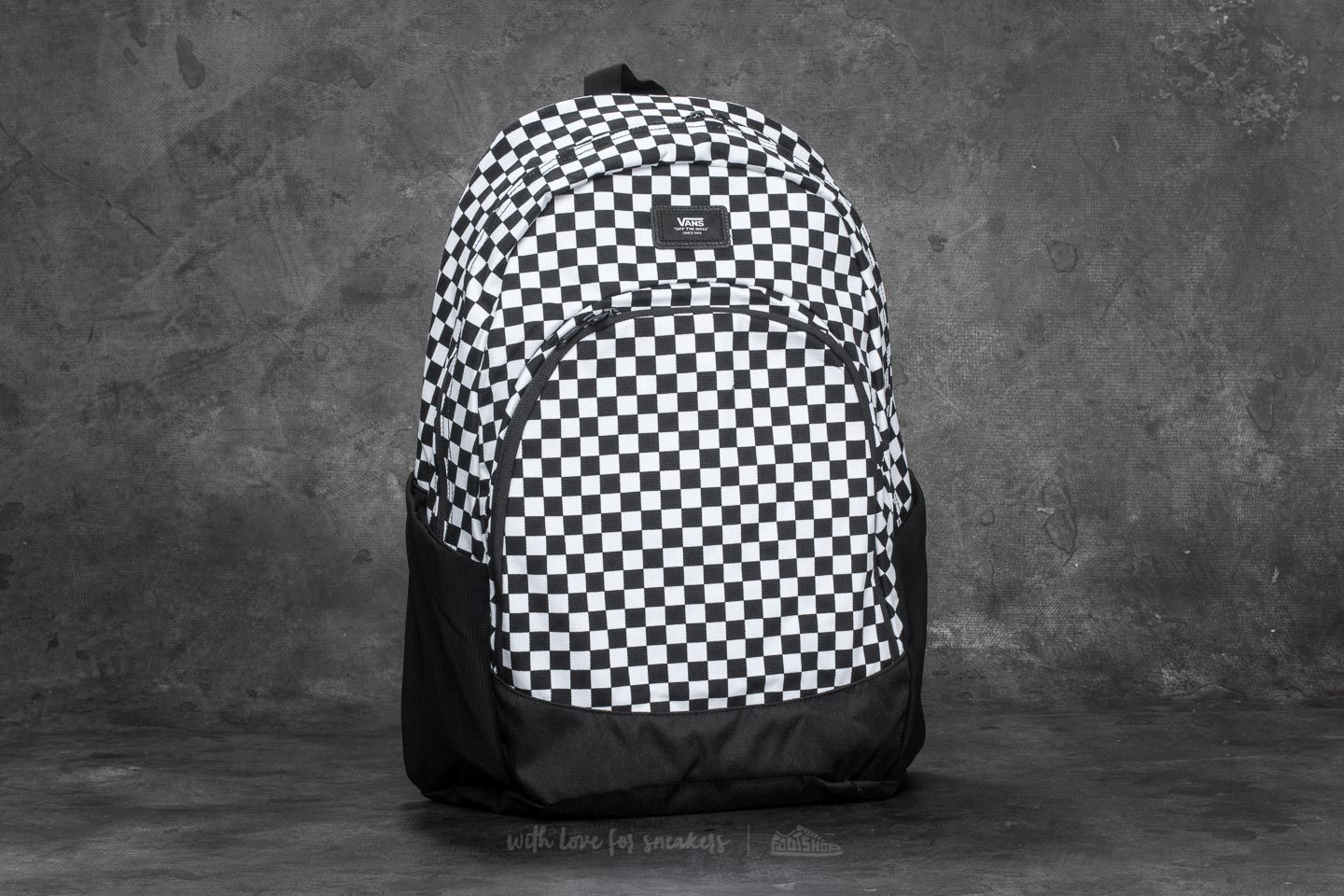 83a7946f0c Vans Van Doren Original Backpack Black/ White | Footshop