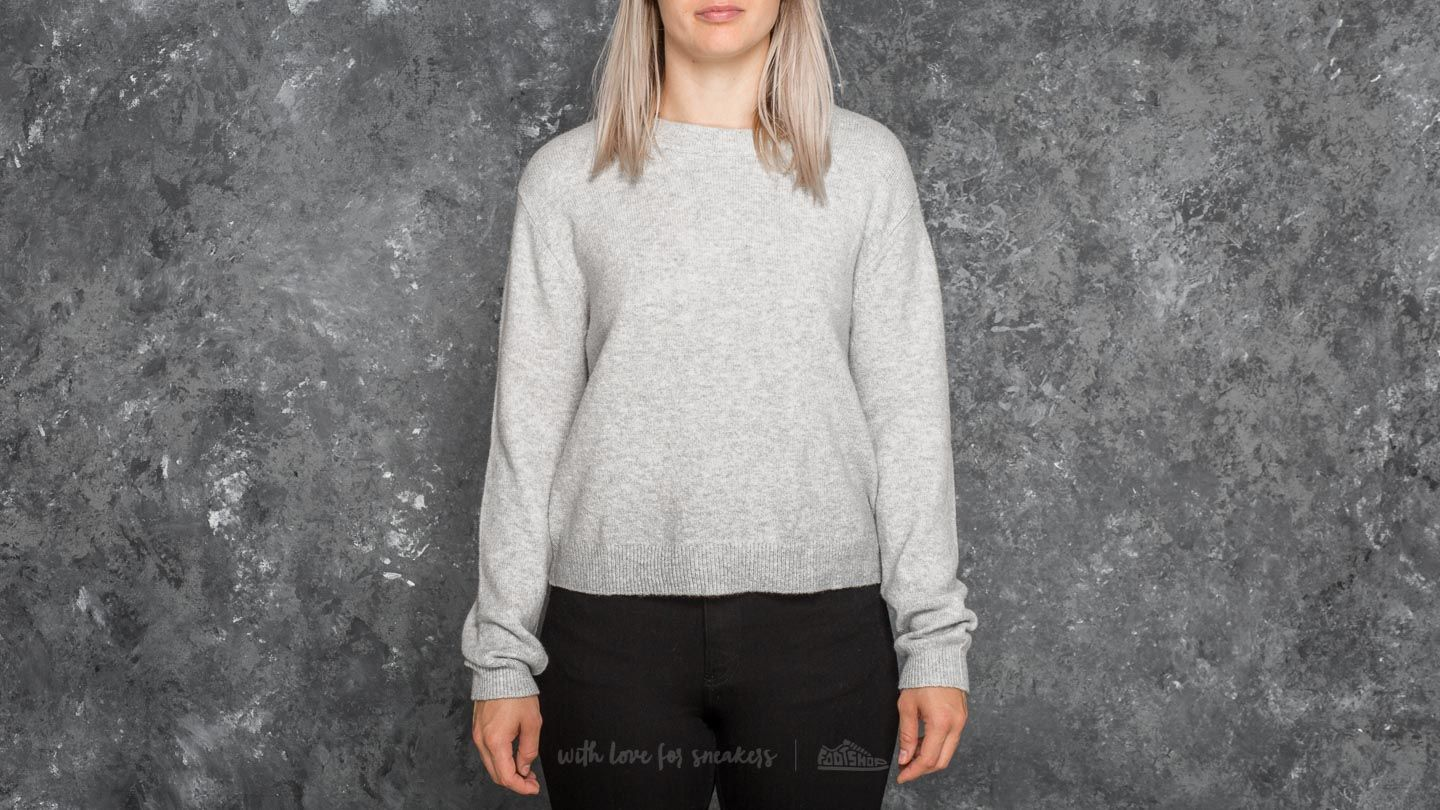 Sudaderas y suéteres Cheap Monday Open Knit Grey Melange
